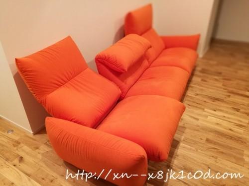 マルイチセーリングのソファ  リクライニング