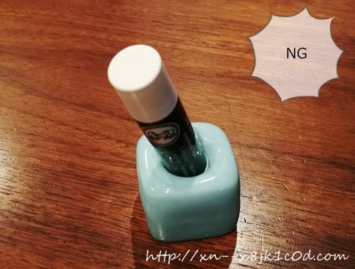 リップクリーム&歯ブラシスタンドの写真