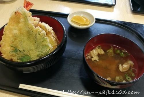 岐阜羽島 空天丼の写真