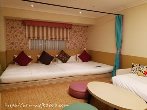 オリエンタルホテル東京ベイの部屋(ショコラ)