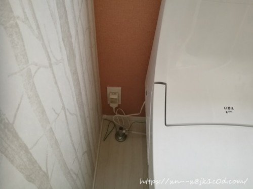 トイレの横の隙間