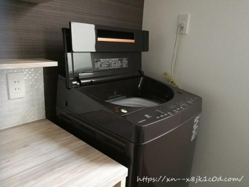 我が家の洗濯機