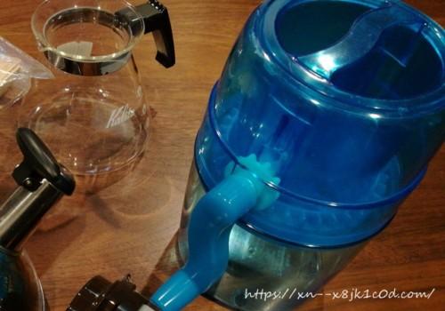 カキ氷、コーヒーサーバー