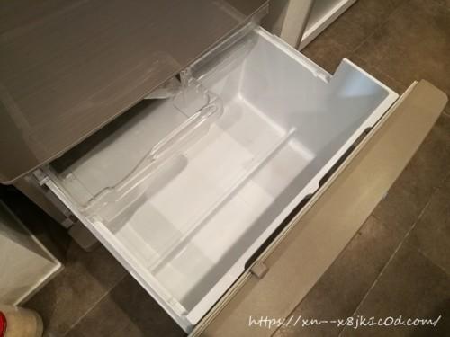 すかすかの冷蔵庫