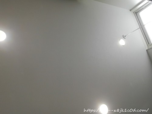 1階洗面所の照明