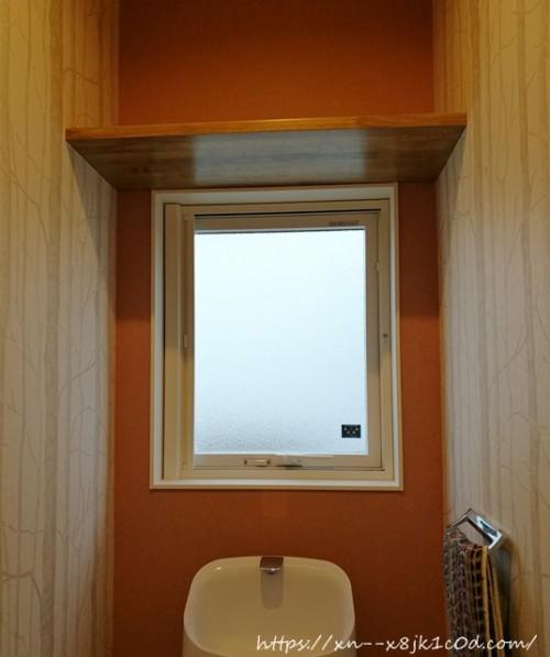 2階トイレの窓