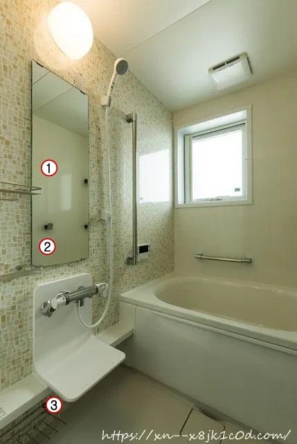 2階のお風呂の収納