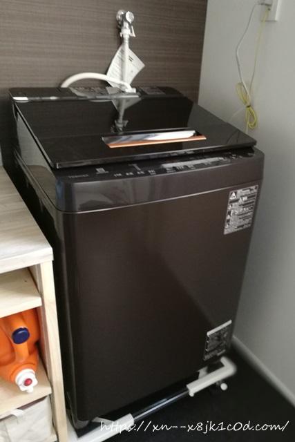 東芝の洗濯機(10kg)ザブーン